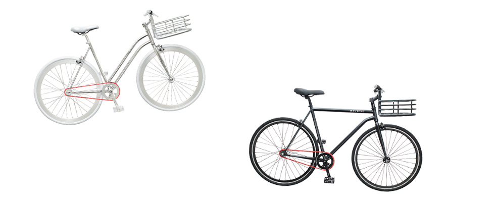 Martone Cycling Co. et le culte de la chaîne rouge