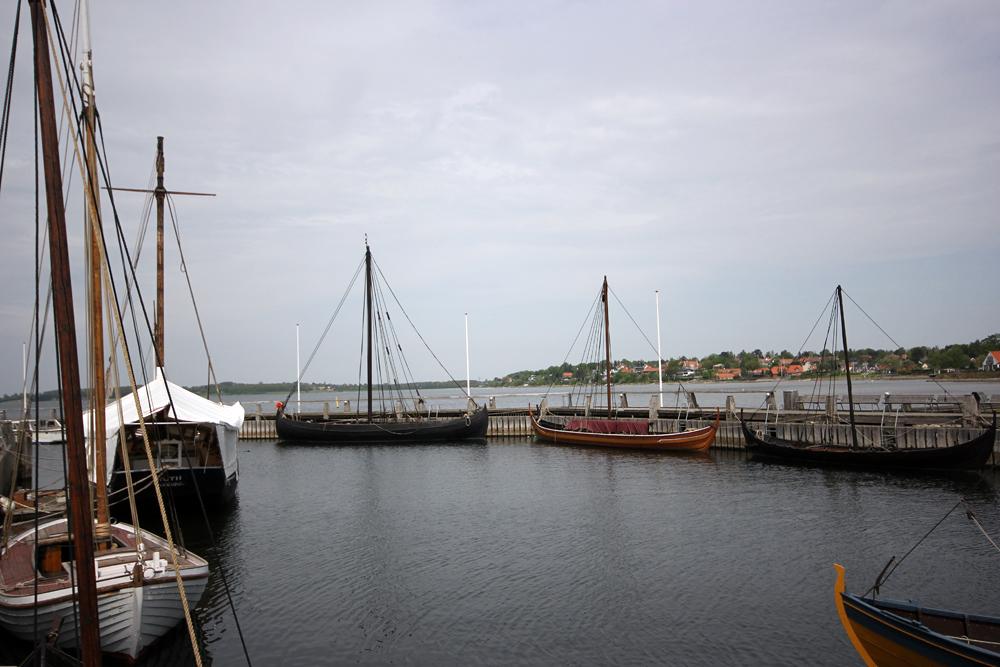 Les bateaux vikings de Roskilde