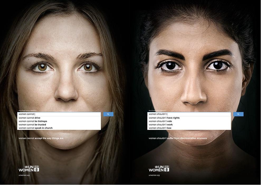 L'ONU Femmes veut utiliser les suggestions de Google pour révéler le sexisme