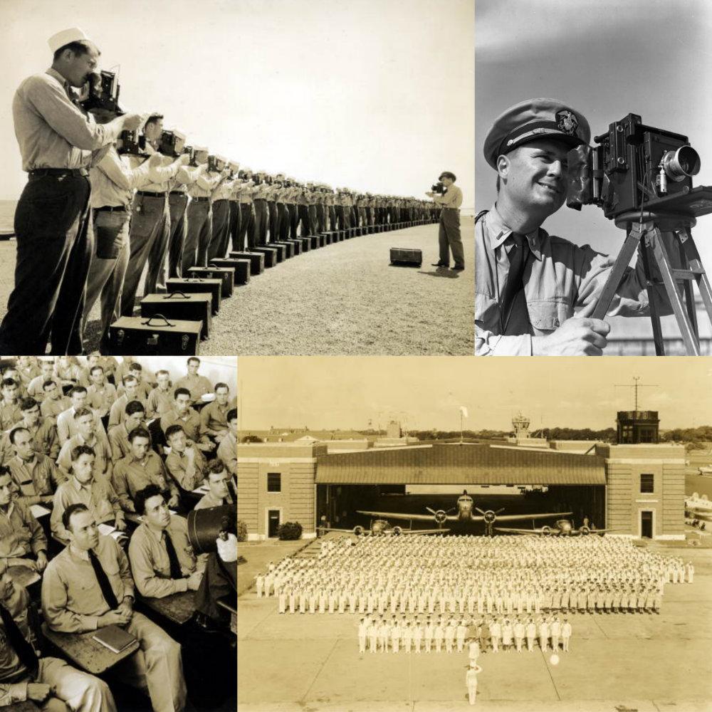 Souvenirs de la US Naval Photography School des années 40