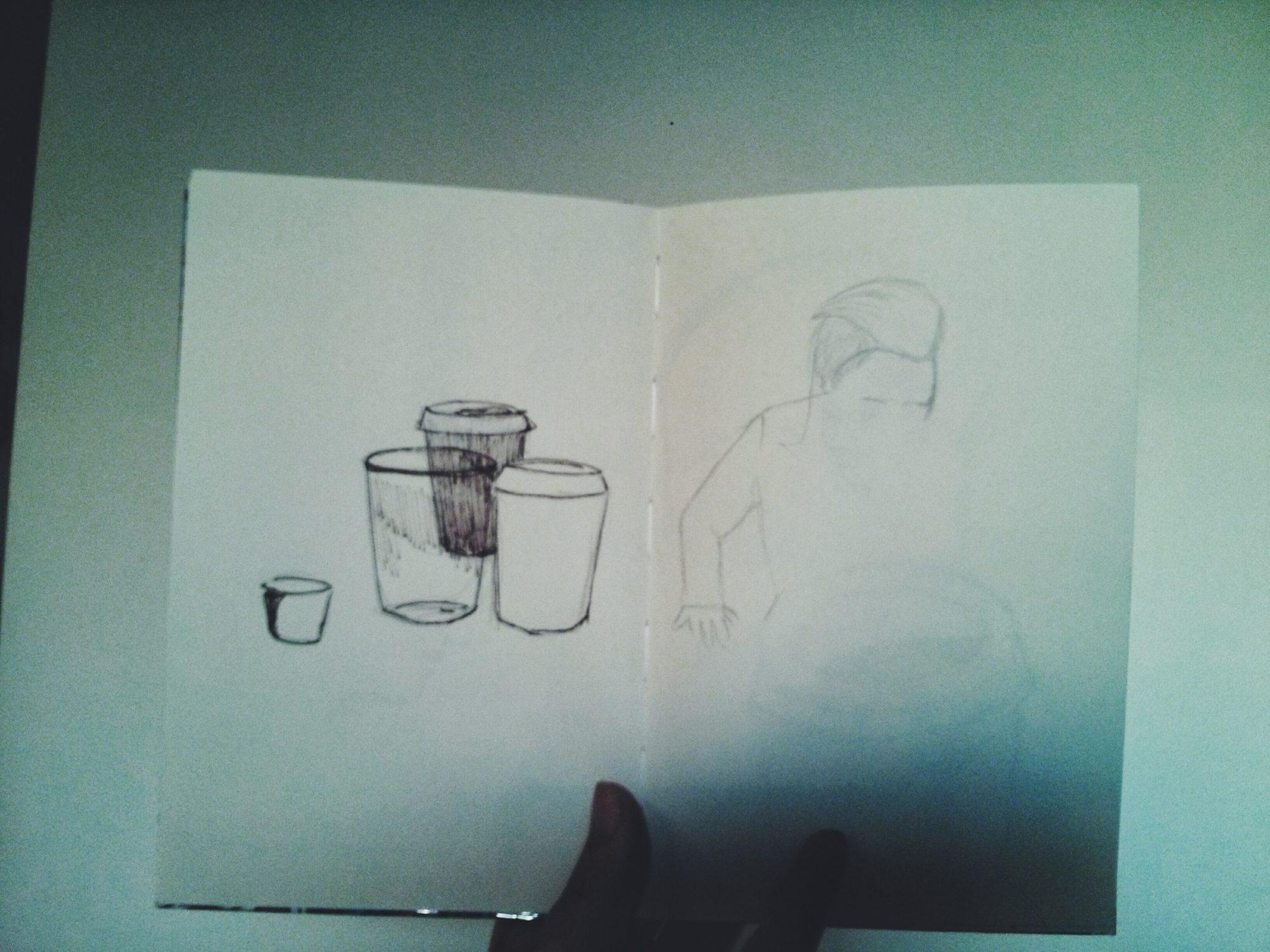 Une conso et un dessin