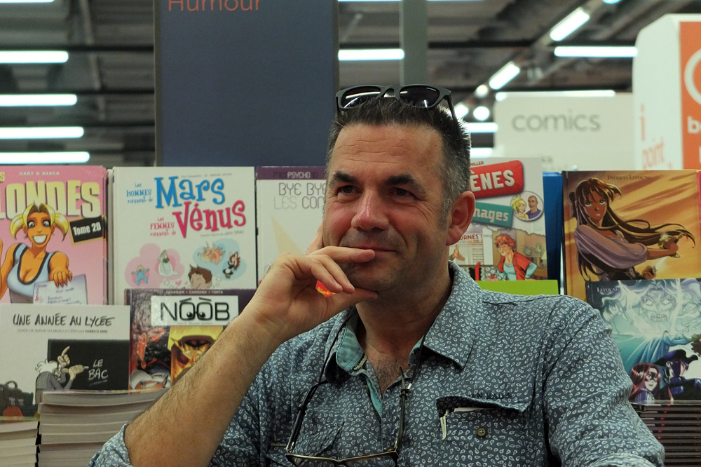 Rencontre avec Jean-Paul Didierlaurent, auteur de Le Liseur du 6h27