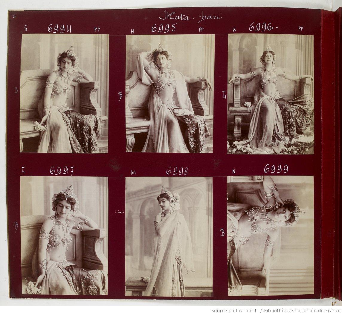 Mata Hari est-elle devenue une légende car elle était cruche ?
