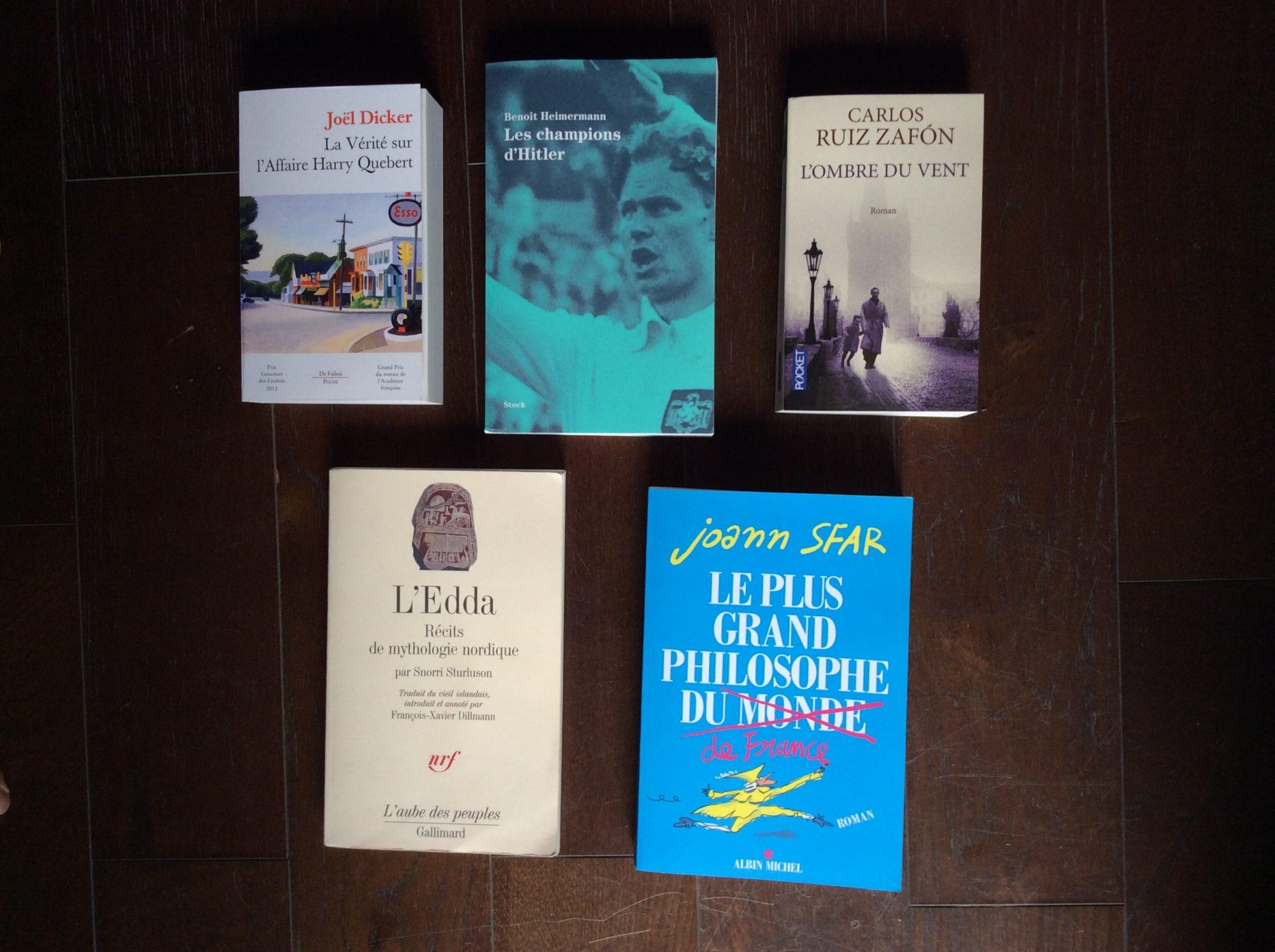 Comment choisis-tu tes lectures ?