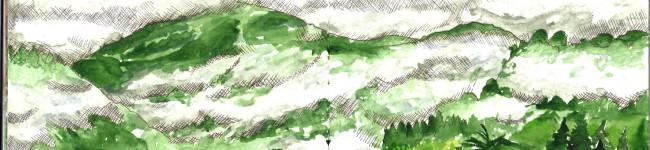 Les nuages estivaux du Sancy