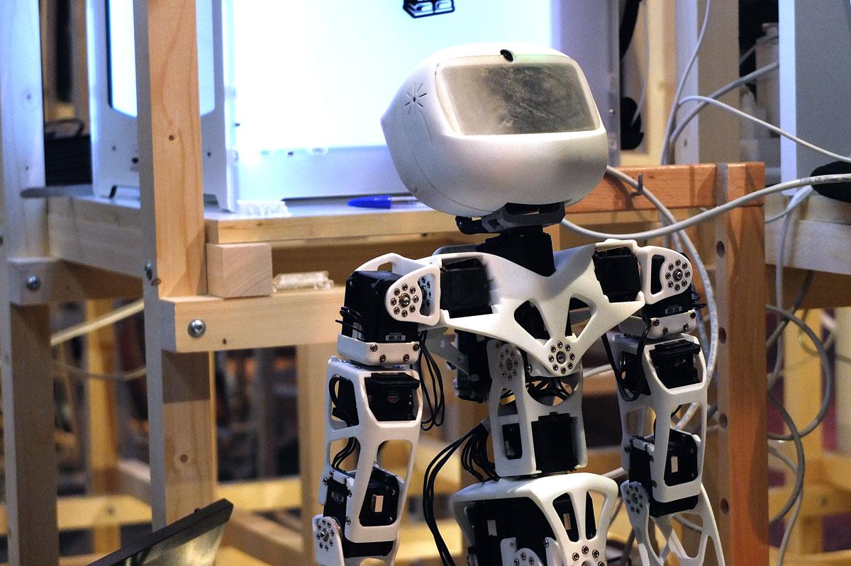 Open Source : Imprimez vous-mêmes votre robot