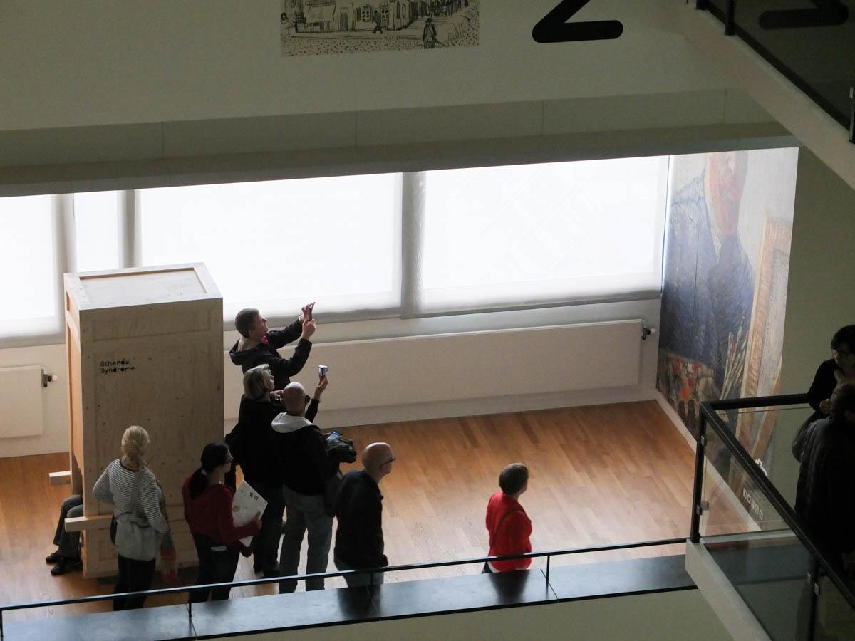 Les photos interdites du musée Van Gogh