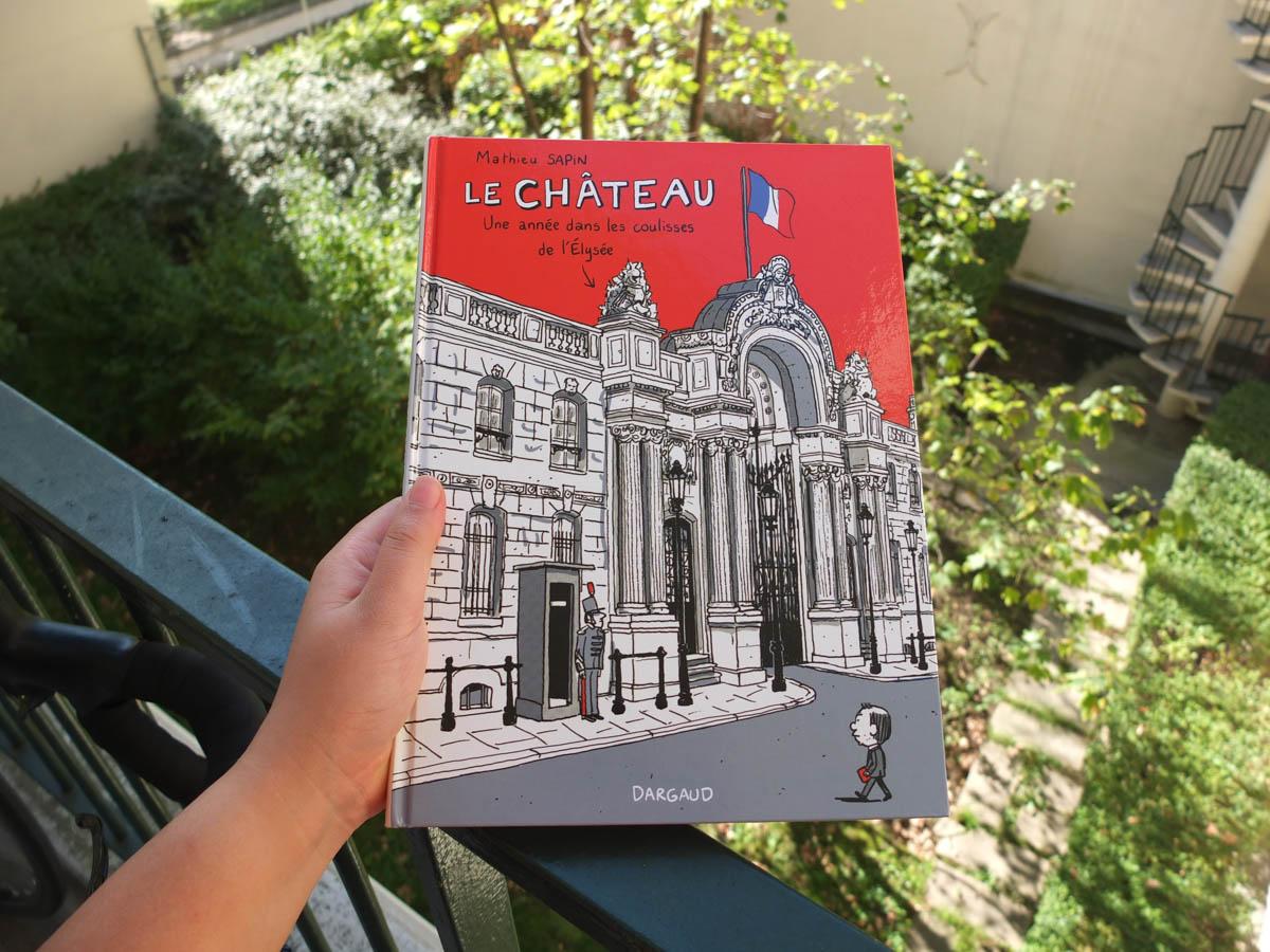 """""""Le Château"""", BD dans les coulisses de L'Elysée ou plus"""