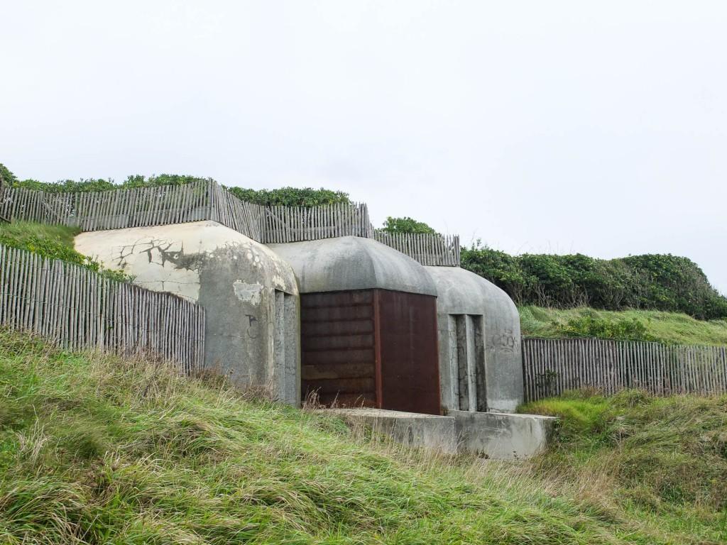 Sainte-Barbe et le mur de l'Atlantique