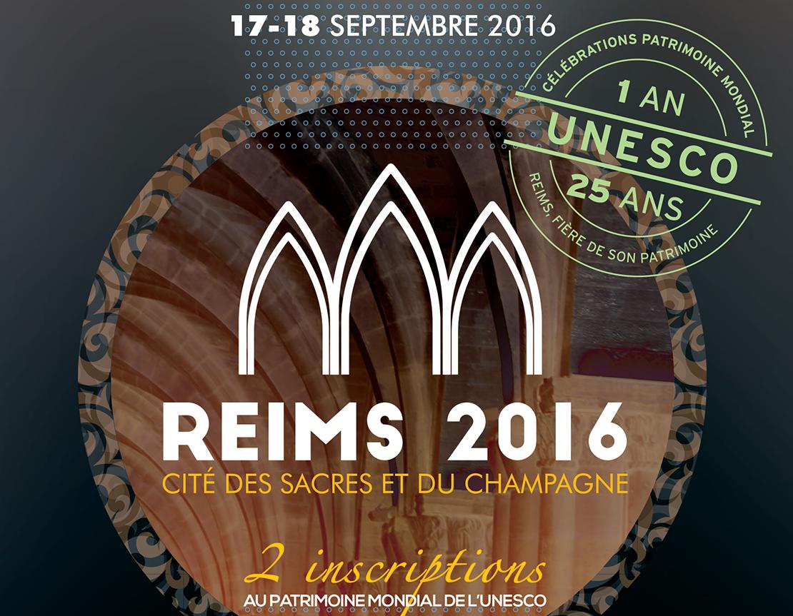 Les Journées du Patrimoine 2016 à Reims