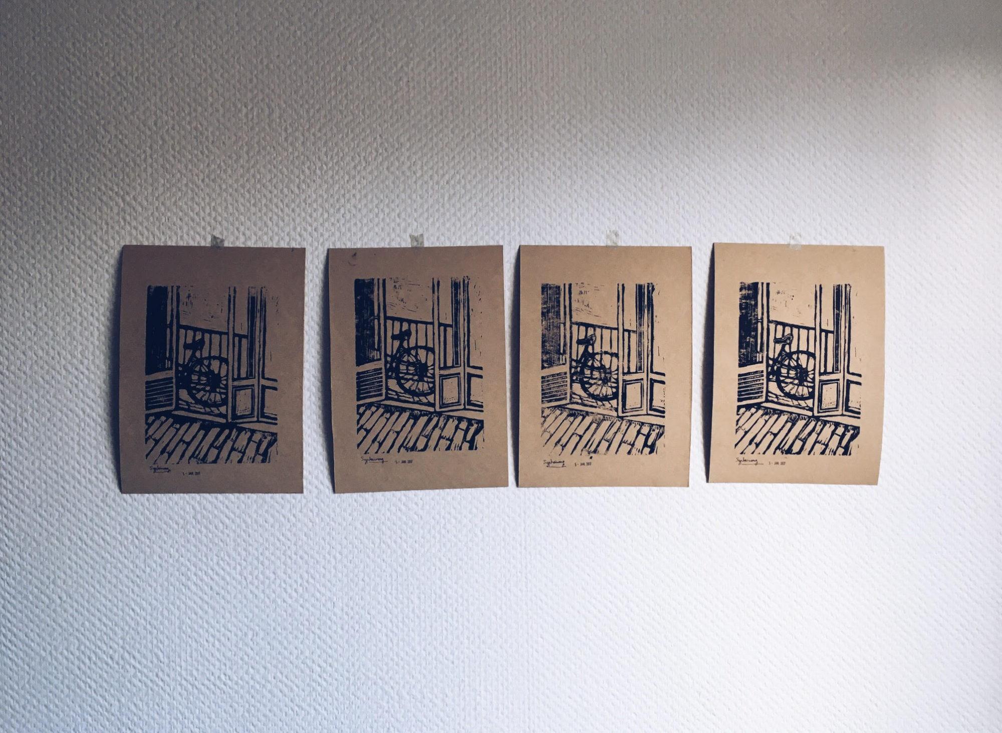 Participez au lancement de mon atelier de gravure !