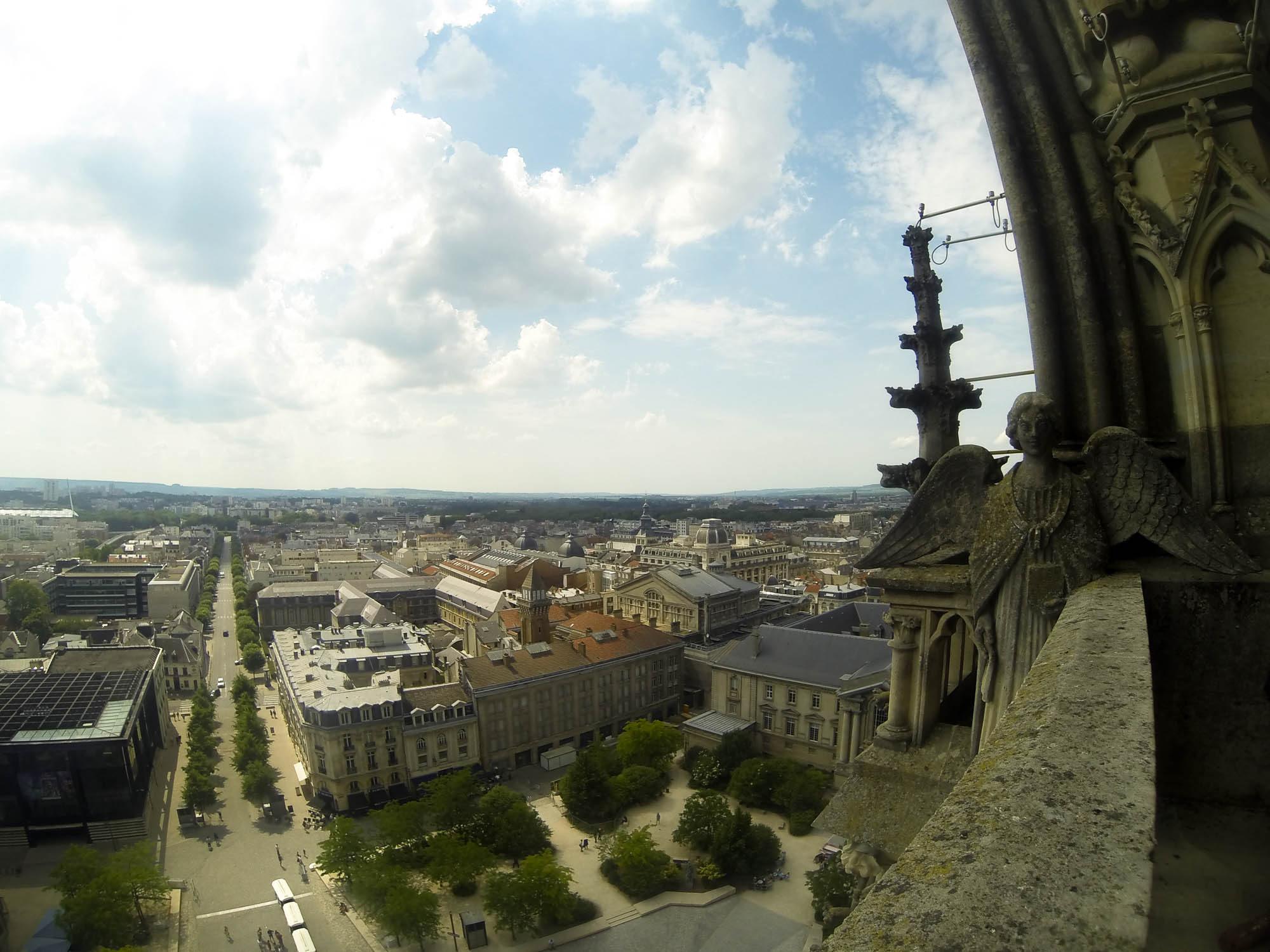 Le Palais du Tau et les tours de la Cathédrale de Reims