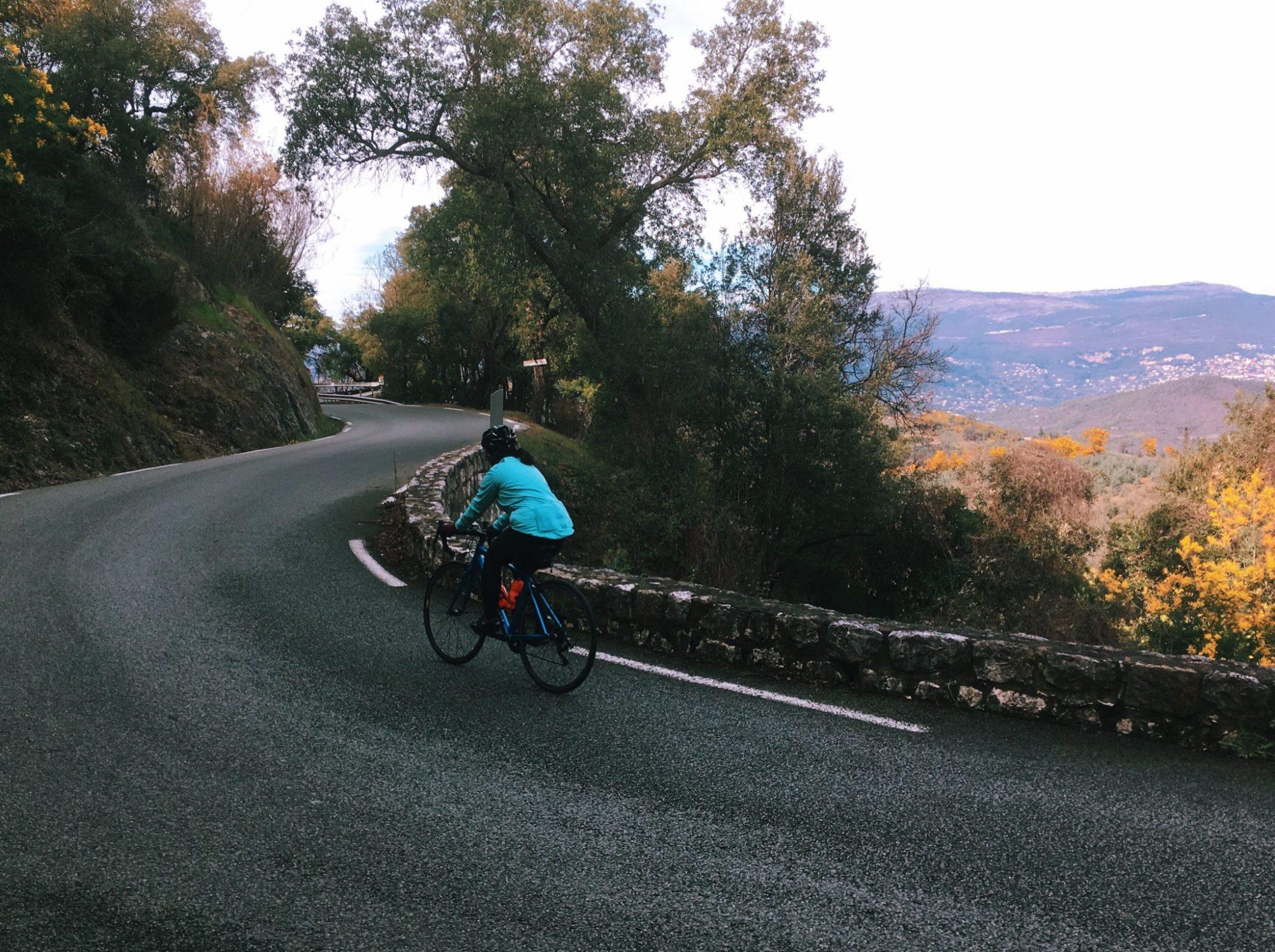 Tour de vélo dans le Massif de l'Estérel / Massif du Tanneron