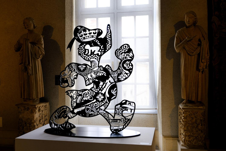 Rétrospective Speedy Graphito au Palais du Tau