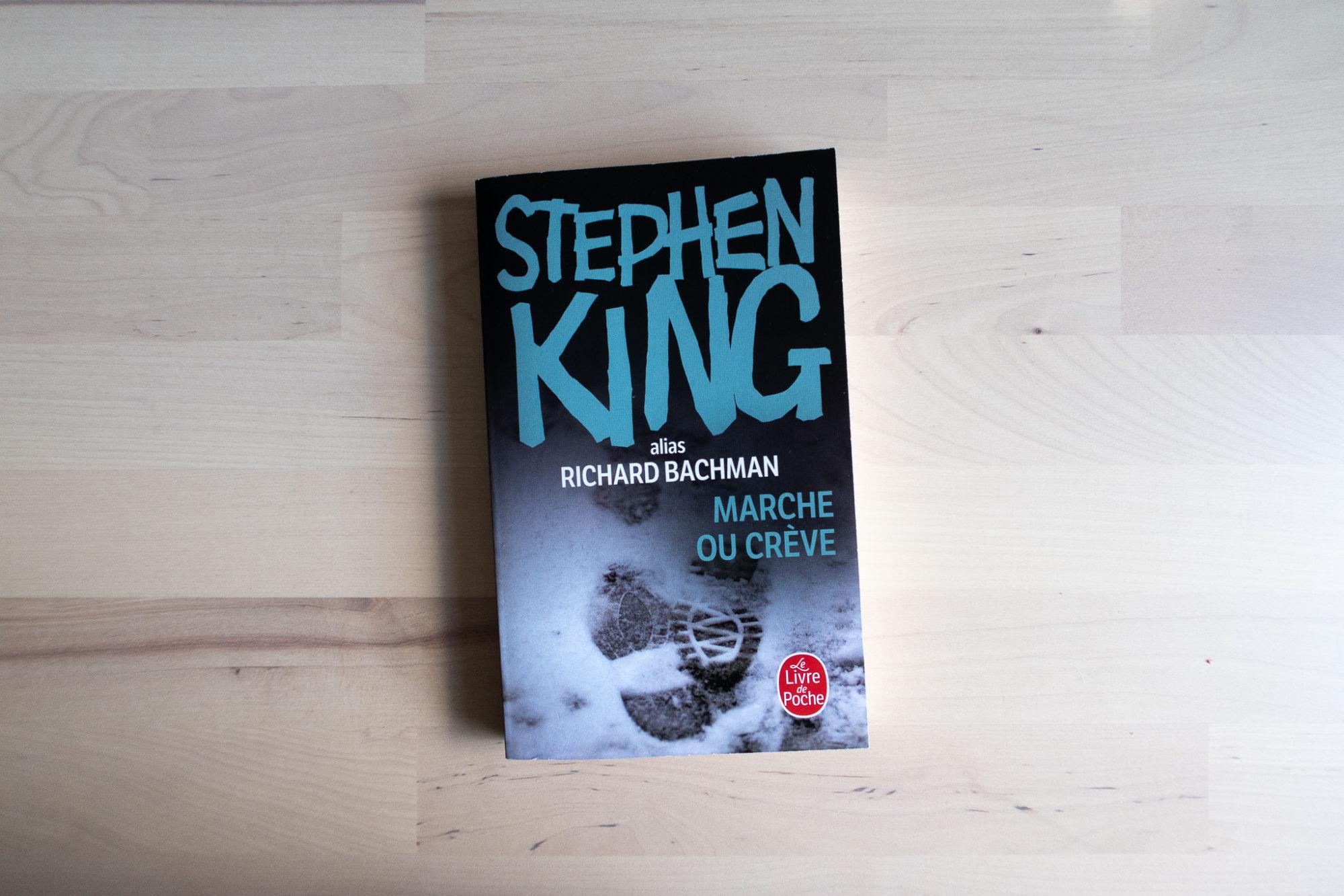 Photo de la couverture de Marche ou crève de Stephen King par les Livre de Poche.